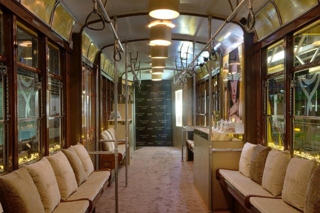 Tram Goldea Bulgari – Photo credit http://www.inthemoodforlove.it/
