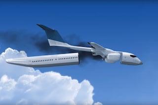 La fusoliera si stacca e galleggia: ecco l'aereo più sicuro al mondo