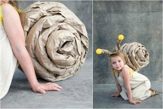 Carnevale: come creare un costume da lumaca con la carta per i pacchi