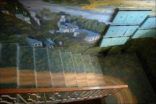 Ecco l'artista che trasforma le scale di casa in incredibili paesaggi naturali