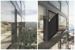 Bloomframe, la prima finestra che diventa balcone