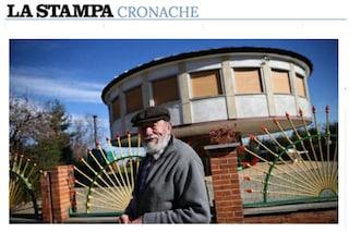 Ruota su sé stessa inseguendo il Sole: a Cuneo c'è una casa girasole