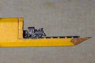 Trasforma le matite in incredibili capolavori in miniatura: ecco l'arte di Cindy Chinn