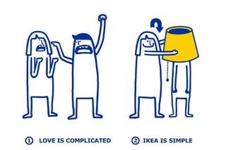 IKEA risolve i problemi d'amore: ecco come