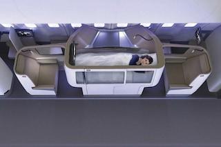 Rivoluzione in prima classe: ecco le nuove cabine sopra-elevate degli aerei