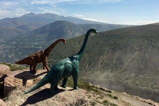 Dinosauri in giro per il mondo: ecco le foto che conquistano Instagram