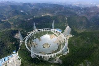 La Cina cerca gli alieni: ecco il più grande telescopio del mondo