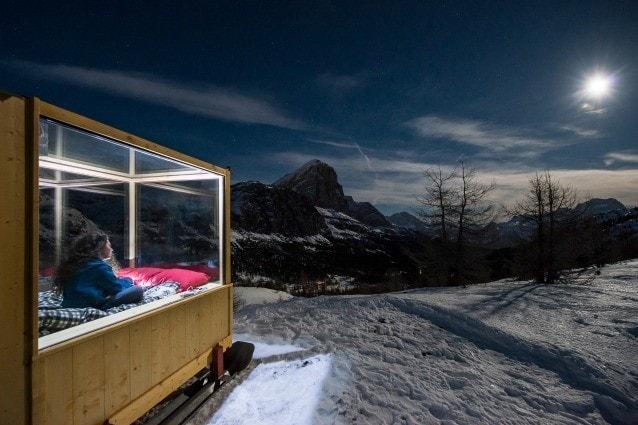 Starlight Room Ecco La Scatola Mobile Per Dormire Sotto Le Stelle Di Cortina