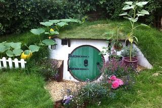 Come costruire una casa da hobbit nel vostro giardino