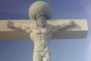 Corea del Sud: Gesù sulla Croce diventa muscoloso