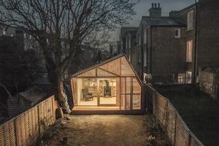 Londra: la capanna da fiaba è un rifugio per scrittori dal caos della città