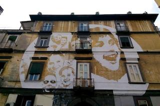 """""""Luce"""" al Rione Sanità: la street art di Tono Cruz illumina Napoli"""