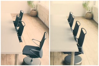 Mobili intelligenti: ecco la prima sedia che torna da sola al proprio posto