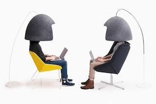 Ecco il casco che elimina i rumori e vi isola dal mondo