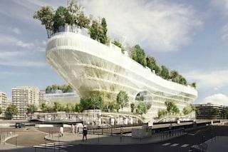 Parigi: 1000 alberi spuntano dall'edificio per riqualificare la perfieria