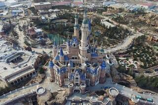 Prime immagini aeree di Disneyland Shanghai: ecco come sarà il nuovo parco divertimenti