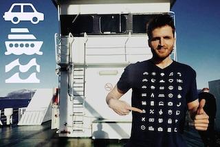 Non parli una lingua? Ecco Iconspeak, la prima t-shirt che ti aiuta a viaggiare