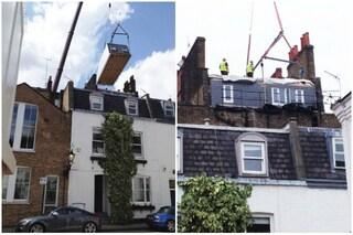 Londra: ecco come aggiungere un piano alla casa senza fare lavori all'edificio
