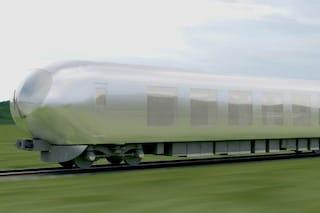 Giappone: ecco il primo treno trasparente che non rovina il paesaggio