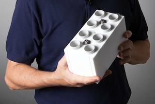 Sembrano mattoni LEGO ma realizzano case vere: ecco un nuovo modo di costruire