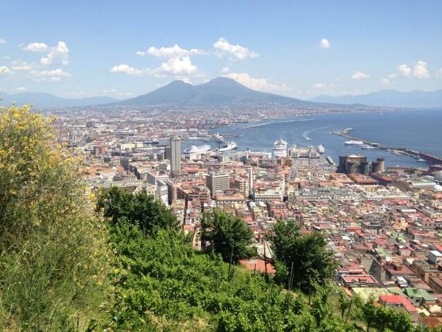 Napoli vista dalla Vigna di San Martino