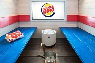 Burger King Spa: ecco il primo fast food al mondo con la sauna