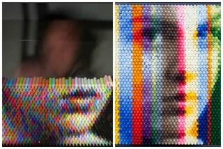 Crea quadri con i pastelli: ecco l'arte di Christian Faur