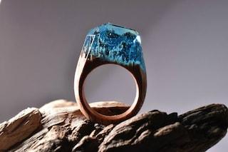 Il Pianeta sulle dita: ecco gli anelli che nascondono mondi segreti