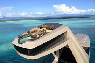 Cabina panoramica e piscina a strapiombo: ecco lo yacht più bello del mondo