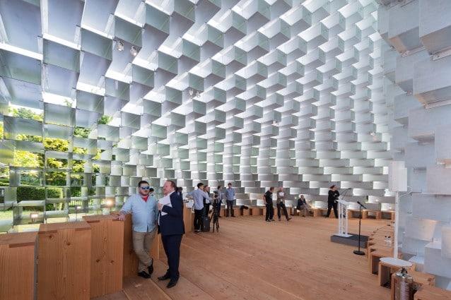 Serpentine Pavilion 2016 designed by Bjarke Ingels Group (BIG); (10 June – 9 October); Photo © Iwan Baan