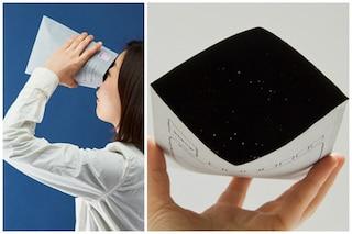 Invia una galassia: ecco la busta col cielo stellato dentro