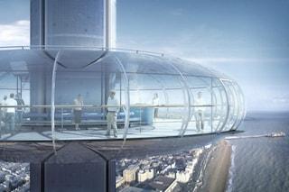 Brighton, apre la prima funivia verticale del mondo: è la torre più slanciata di sempre