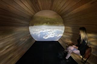 Ecco la stanza che trasforma il paesaggio in una camera oscura