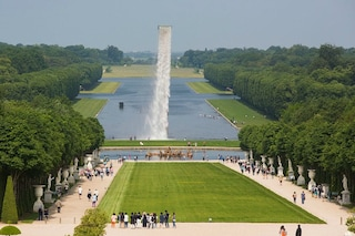 Versailles, una cascata nel cielo della Reggia: realtà o finzione?