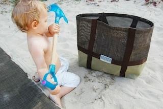 Sand-Free Tote Bag: la prima borsa da mare che respinge la sabbia