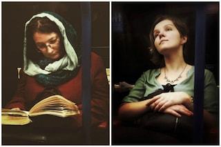 I passeggeri della metropolitana di Londra diventano quadri del XVI secolo