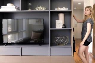 Questo mobile trasforma una piccola stanza in uno spazioso appartamento