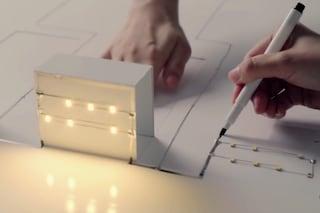 Ecco la prima penna al mondo che conduce elettricità