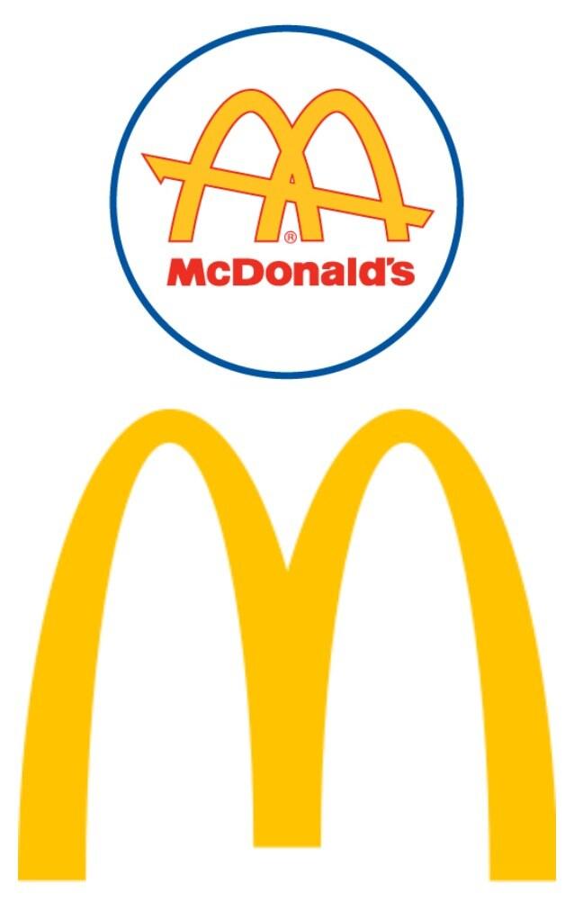 Evoluzione del logo McDonald's