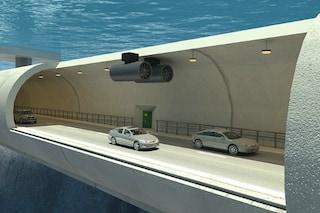 Norvegia, il tunnel sullo stretto è subacqueo