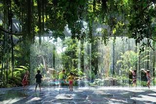 Dubai, ecco il primo albergo al mondo con una foresta pluviale