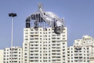 Rio 2016, ecco come la street art di JR celebra i Giochi Olimpici