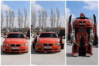 La finzione diventa realtà: ecco la prima BMW Transformer creata da ingegneri turchi
