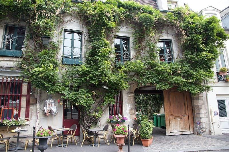 Rue Chanoinesse, Ile de la Cité, Parigi