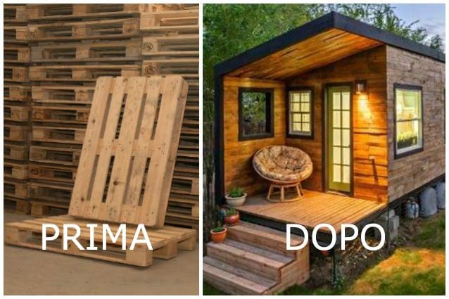 Tavoli Alti Fai Da Te : Come costruire una casa con i pallet e spendere meno di 100 euro