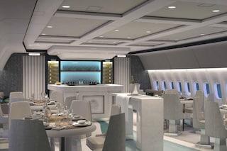Ristorante stellato e maggiordomi a bordo: ecco il jet commerciale più lussuoso al mondo
