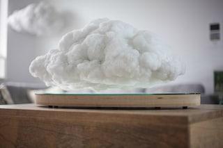 Ecco l'altoparlante che fluttua in casa come una nuvola
