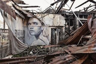 Rone: lo street artist che dipinge la fragilità della bellezza femminile