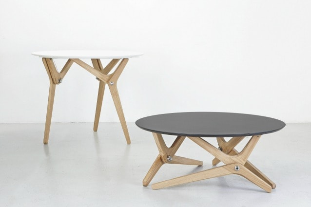Tavolino Trasformabile In Tavolo Da Pranzo.Boulon Blanc Da Tavolino A Tavolo Da Pranzo In Un Secondo