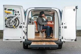 Nissan crea il primo ufficio mobile al mondo completamente elettrico